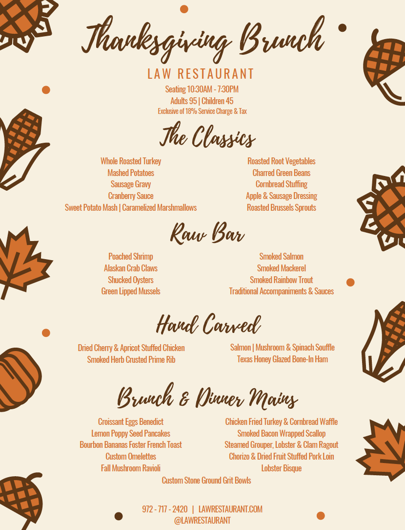 f420e10a0 2018 Thanksgiving Guide: Where to Pre-Order Meals and Dine Out - D ...
