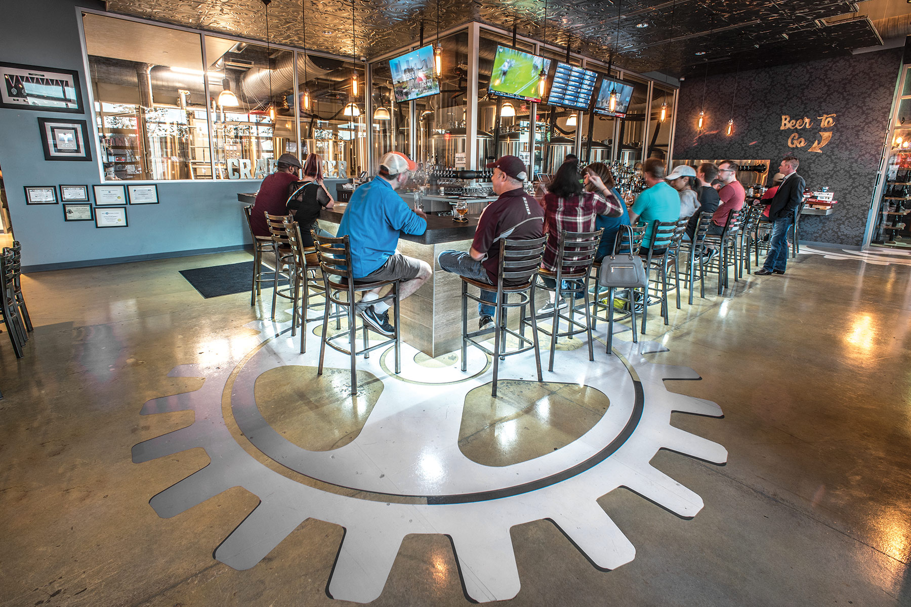 Steam Theory Brewing Company Is Not A Brewpub D Magazine