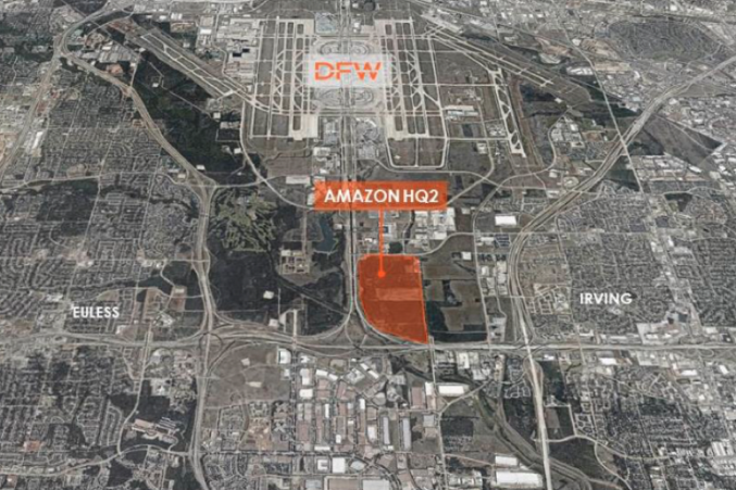 Not a Typo: To Lure Amazon, DFW Airport Had a Plan to Offer