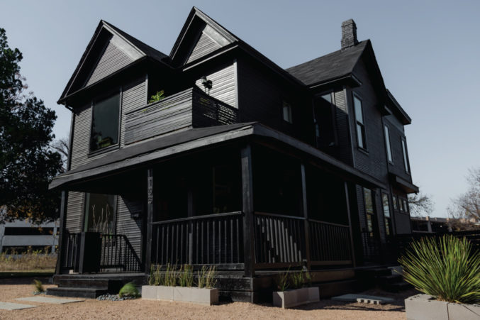 In Fort Worth, An Old House Is The City's New Cultural Hub