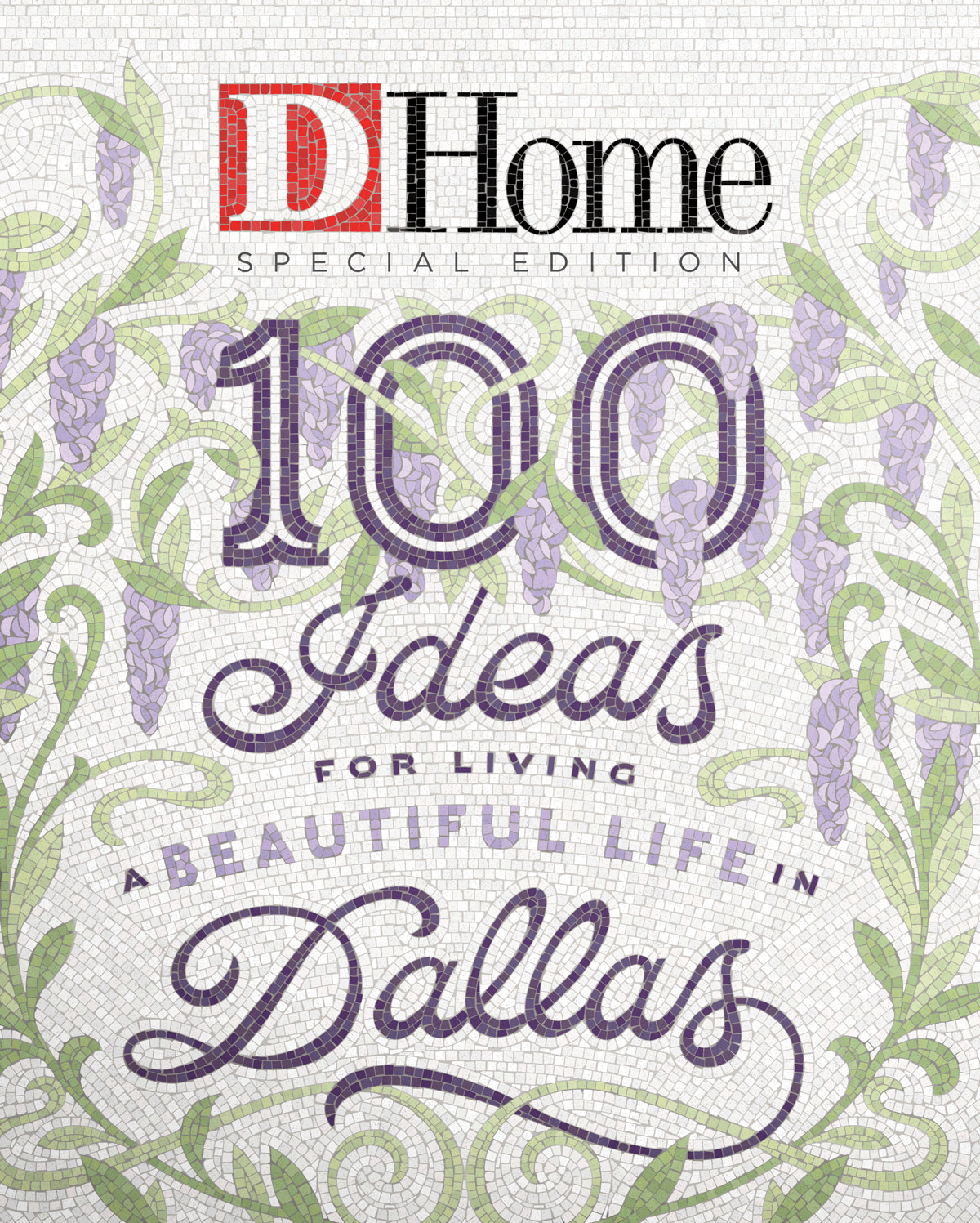 100 Ideas for Living a Beautiful Life in Dallas 2019 cover