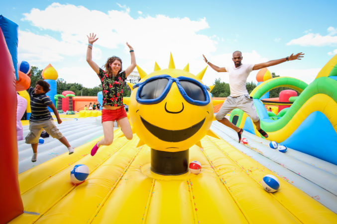 The World's Largest Bounce House Is Coming To Dallas Next ...