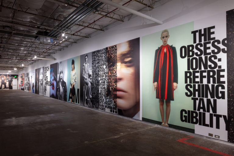 D Exhibition Design : Dallas contemporary pays homage to self service magazine kate