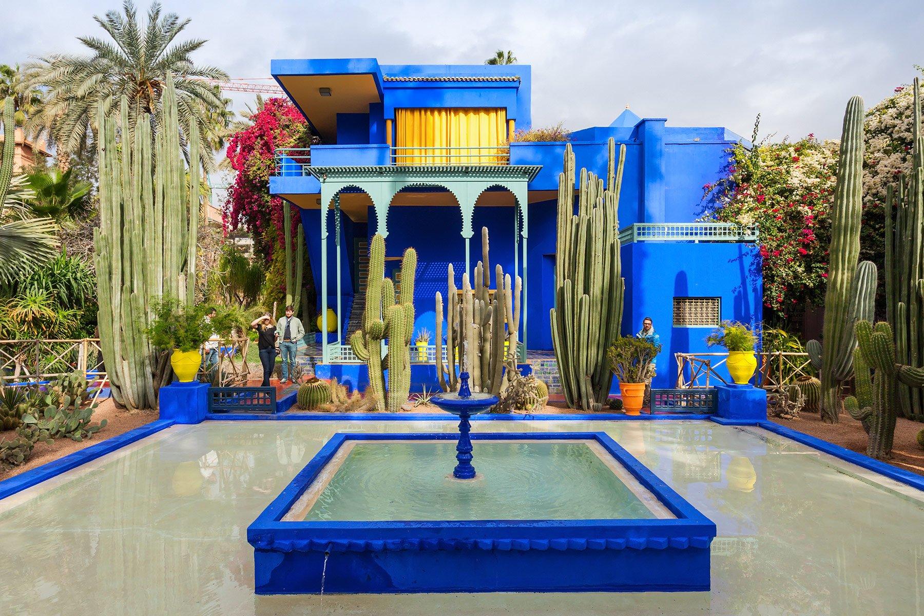 A Moroccan Courtyard Garden D Magazine
