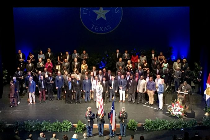 At His Inauguration Mayor Eric Johnson Charts His Vision For Dallas