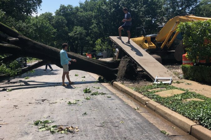 Image result for dallas storms aftermath june 2019
