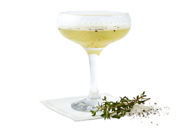 in dew time cocktail
