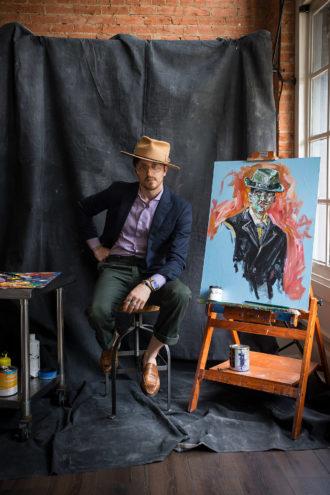 Matthew Miller stylish illustrator