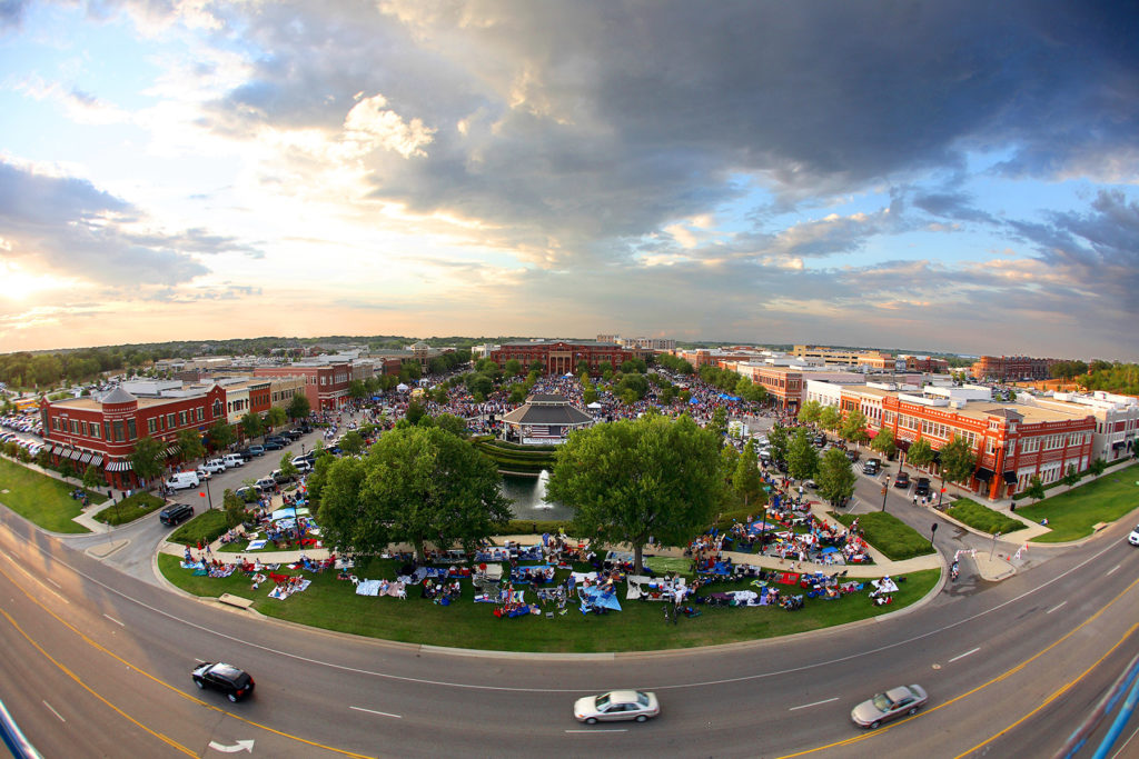 Southlake's town center