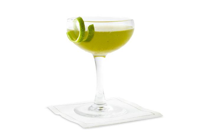 wicker garden cocktail