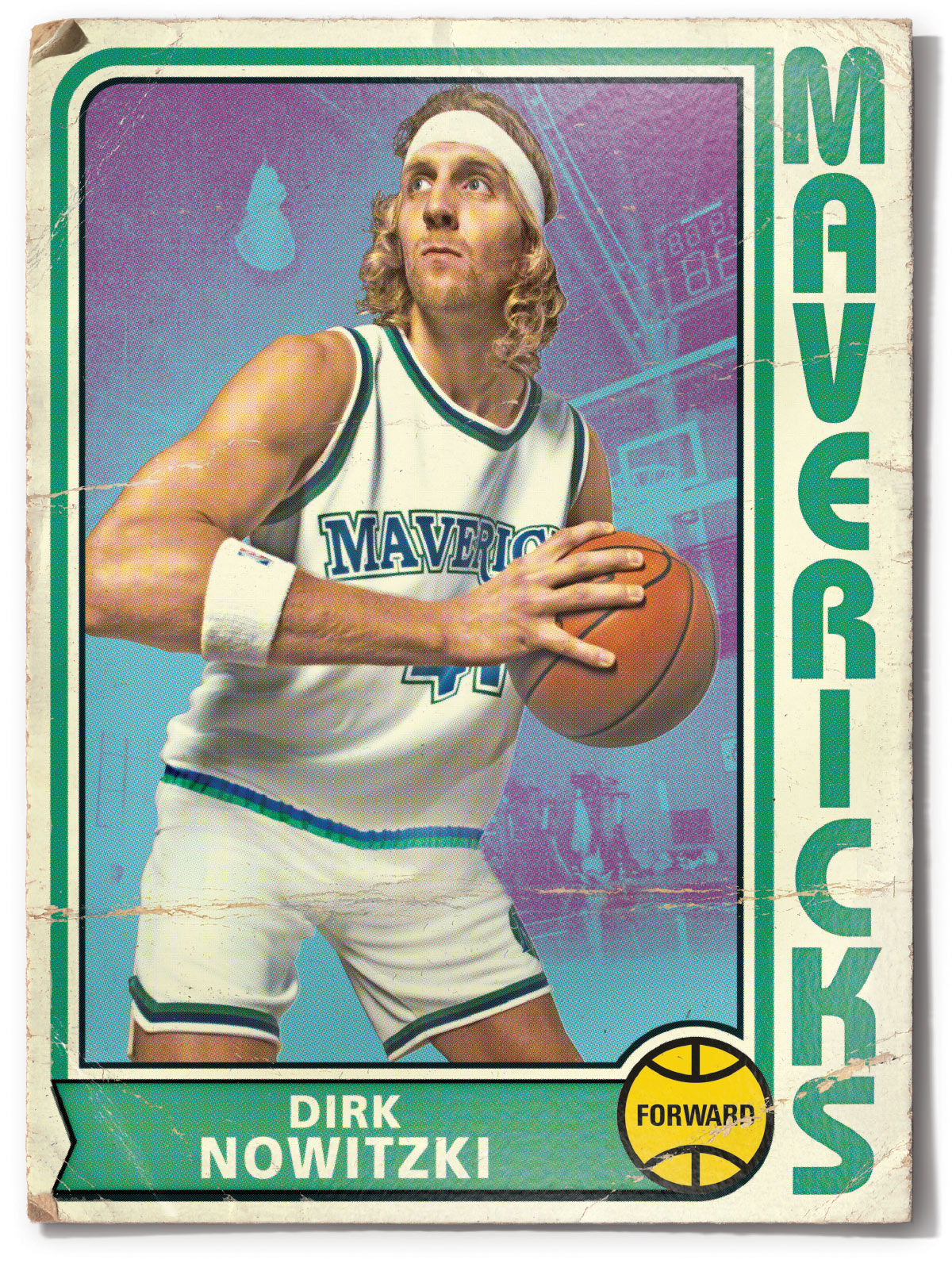 Dirk Nowitzki, Dallas Mavericks Forward