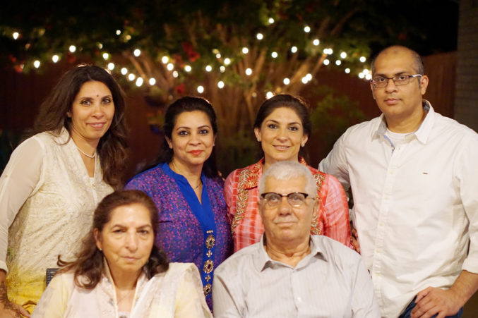 Recent Photo of Muneera and Her Family