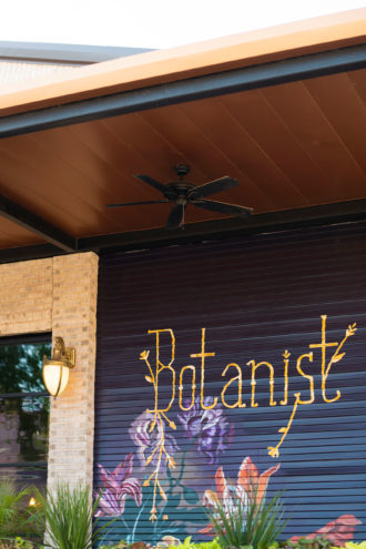 Botanist cocktail lounge in Bishop Arts