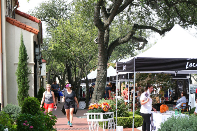 Highland Park Village's LOCAL artisan market