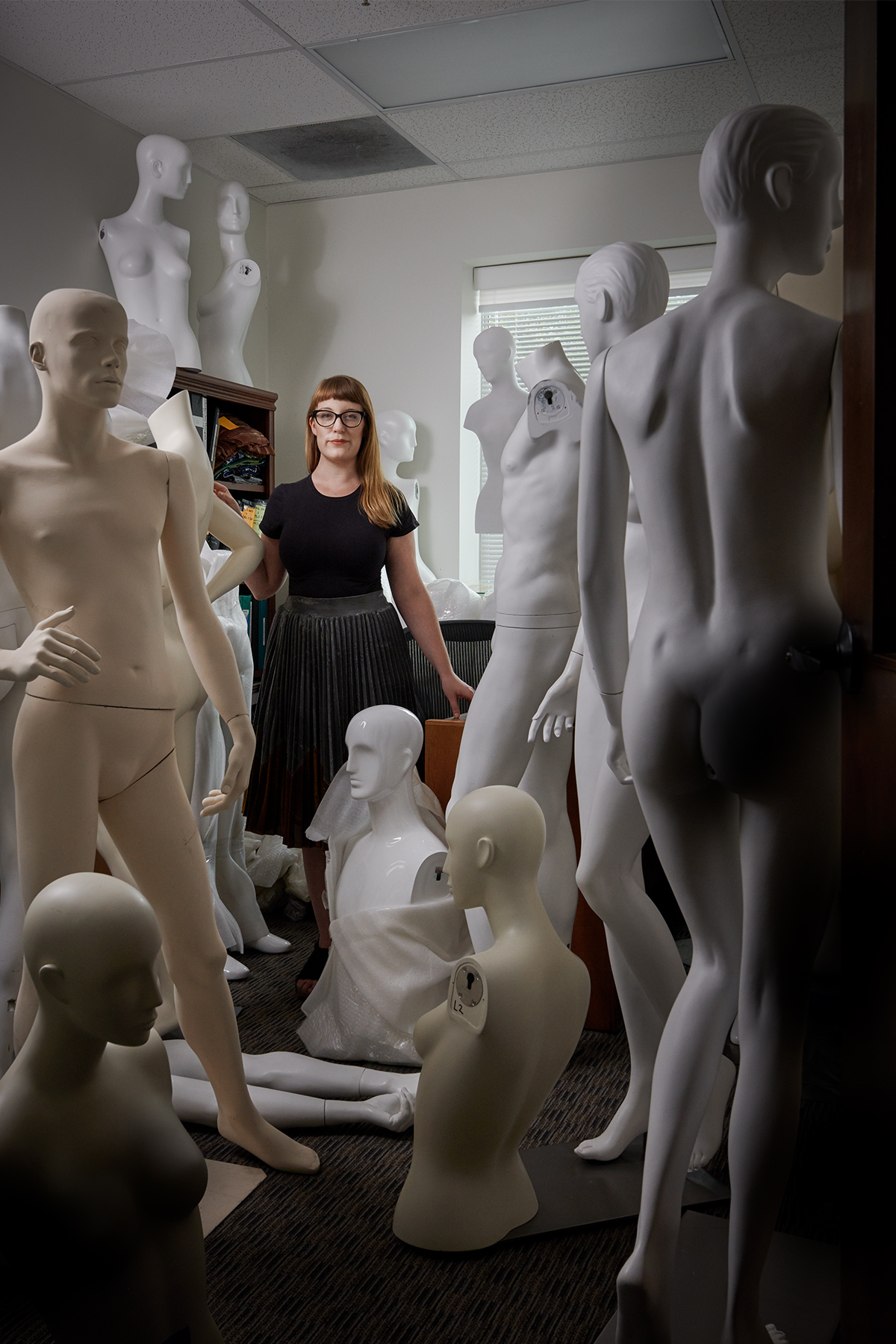 annette becker director of fashion UNT