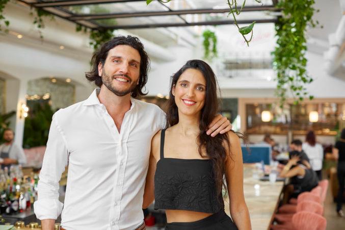 Paradiso Owners Michael and Natasha Nazerian