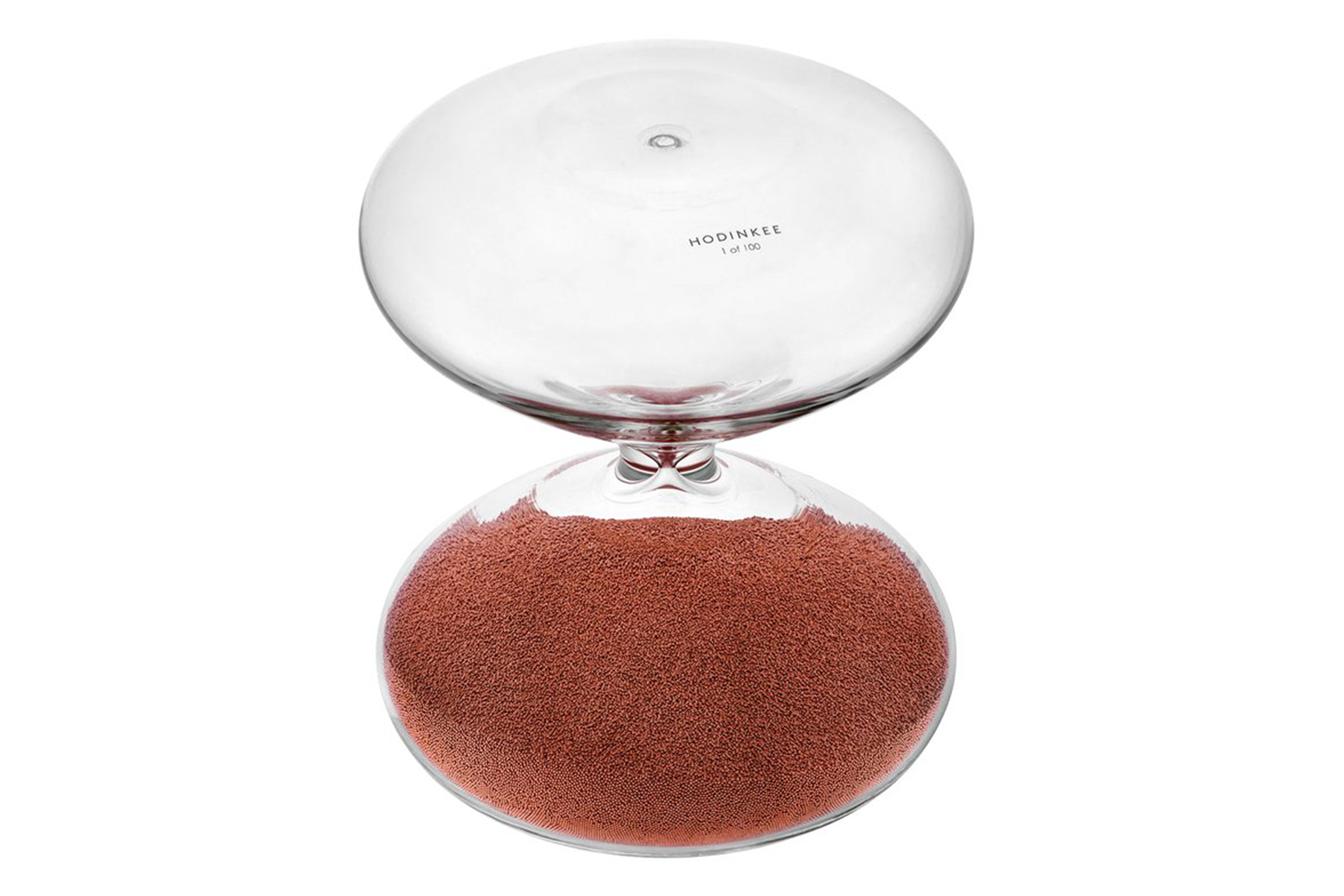 Marc Newson Hourglass for Hodinkee