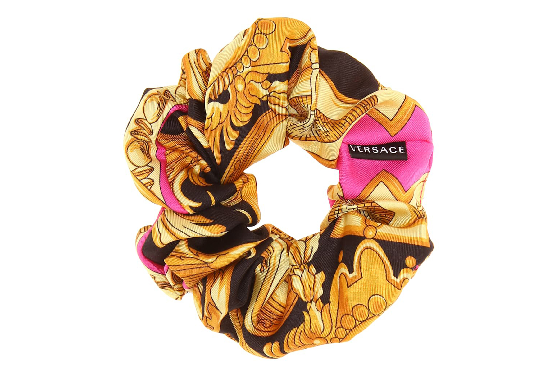 Versace baroque hair scrunchie