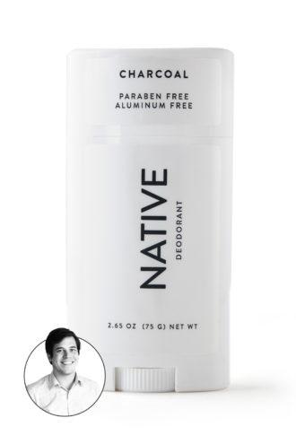 native deodorant charcol