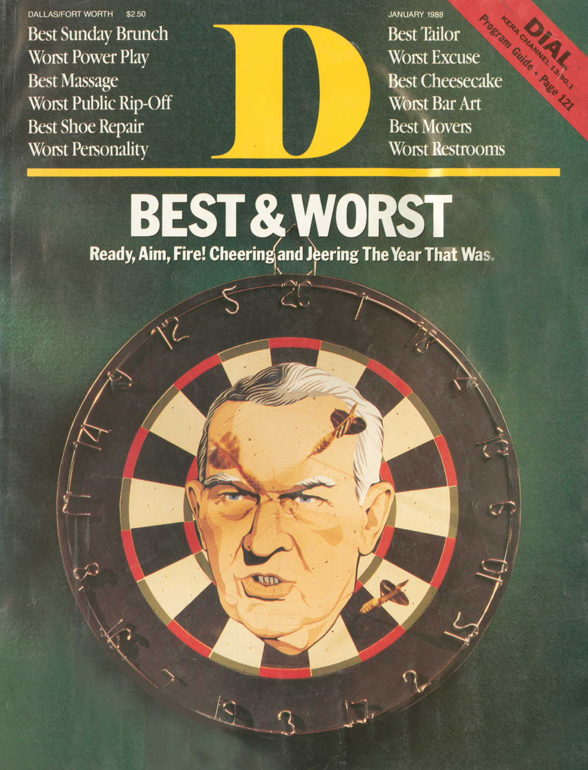 January 1988 cover