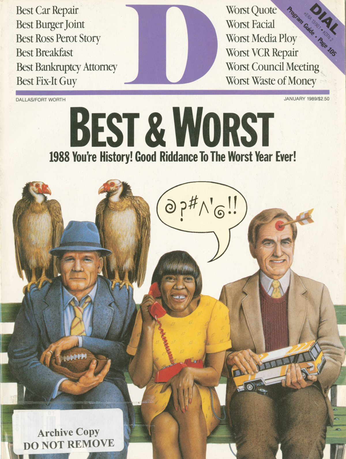 January 1989 cover