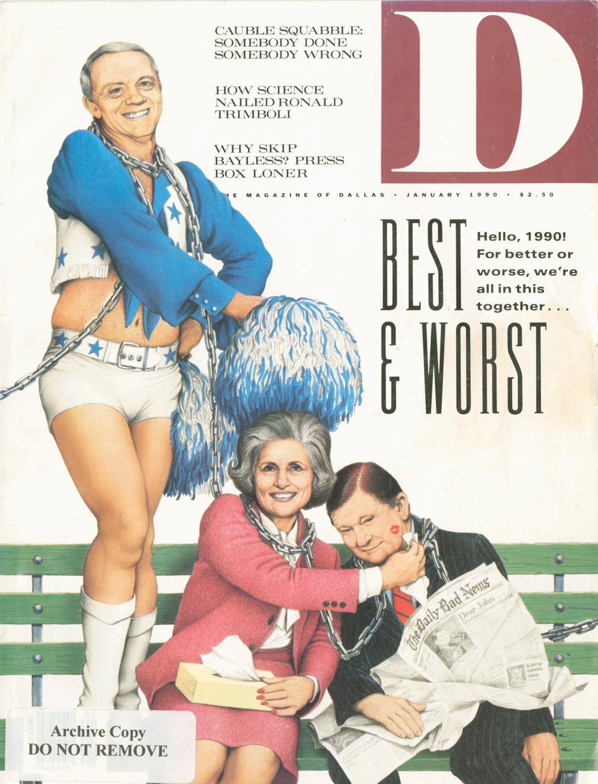 January 1990 cover