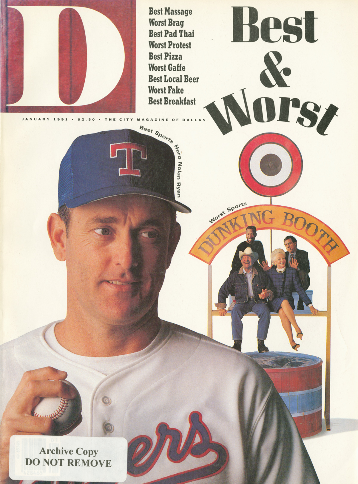 January 1991 cover