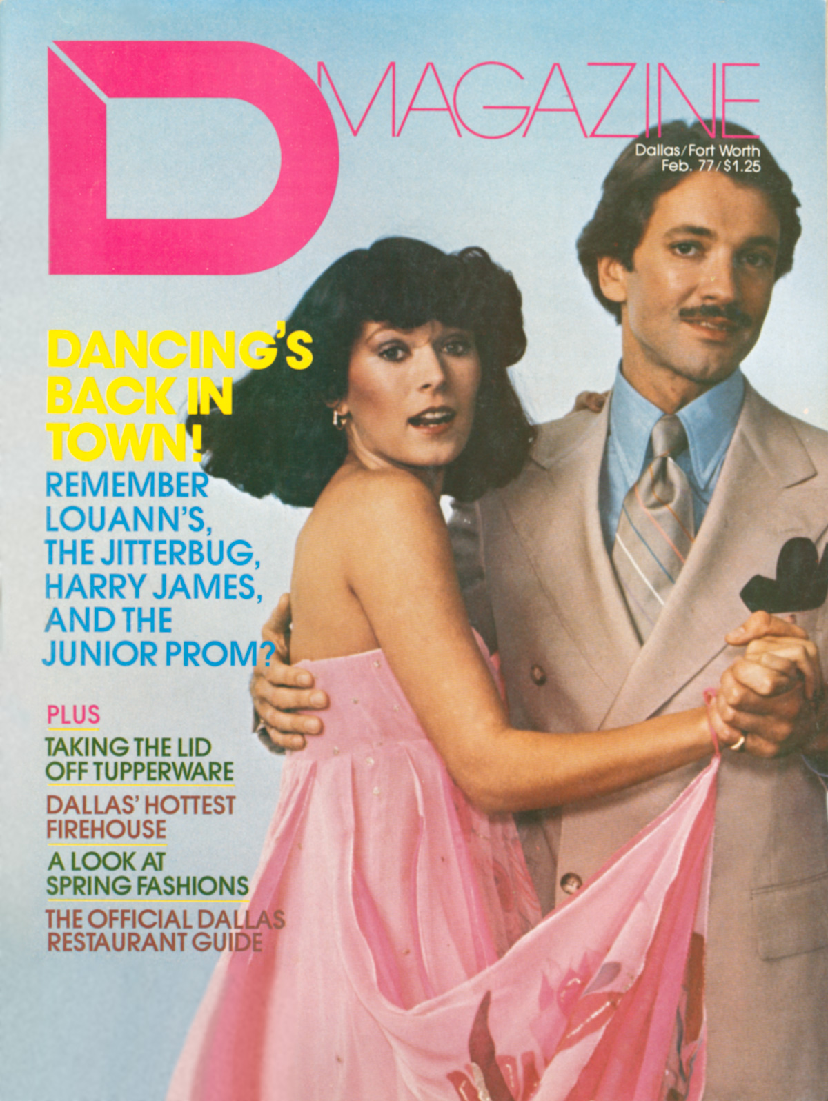 February 1977 cover
