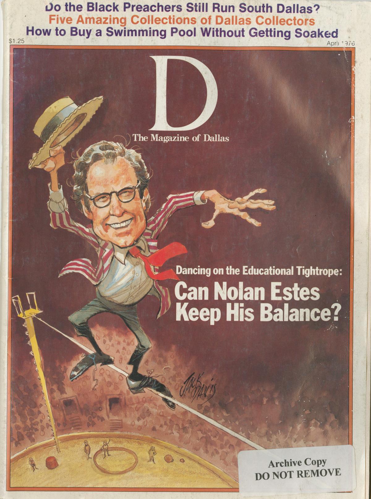 April 1976 cover