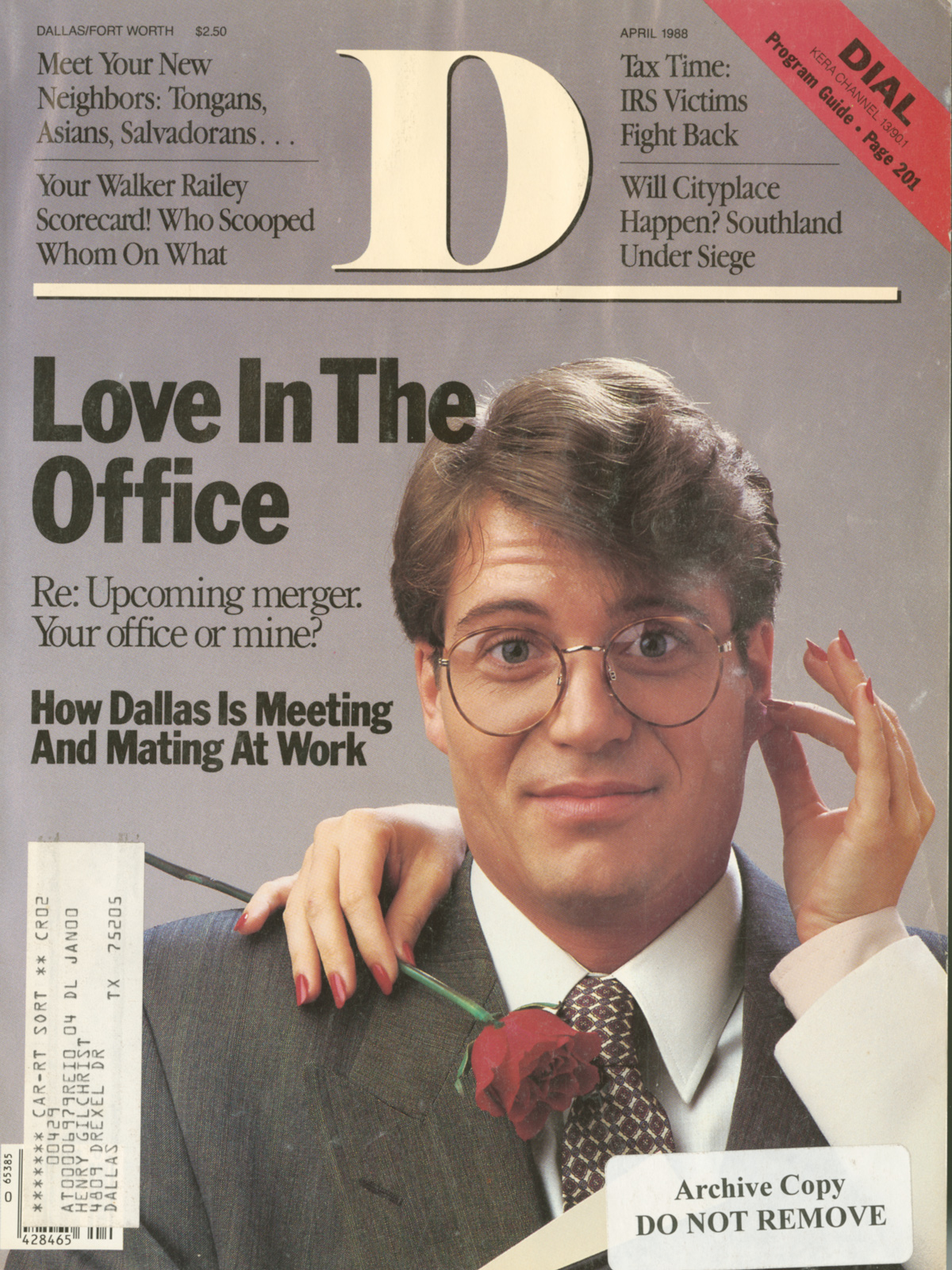 April 1988 cover