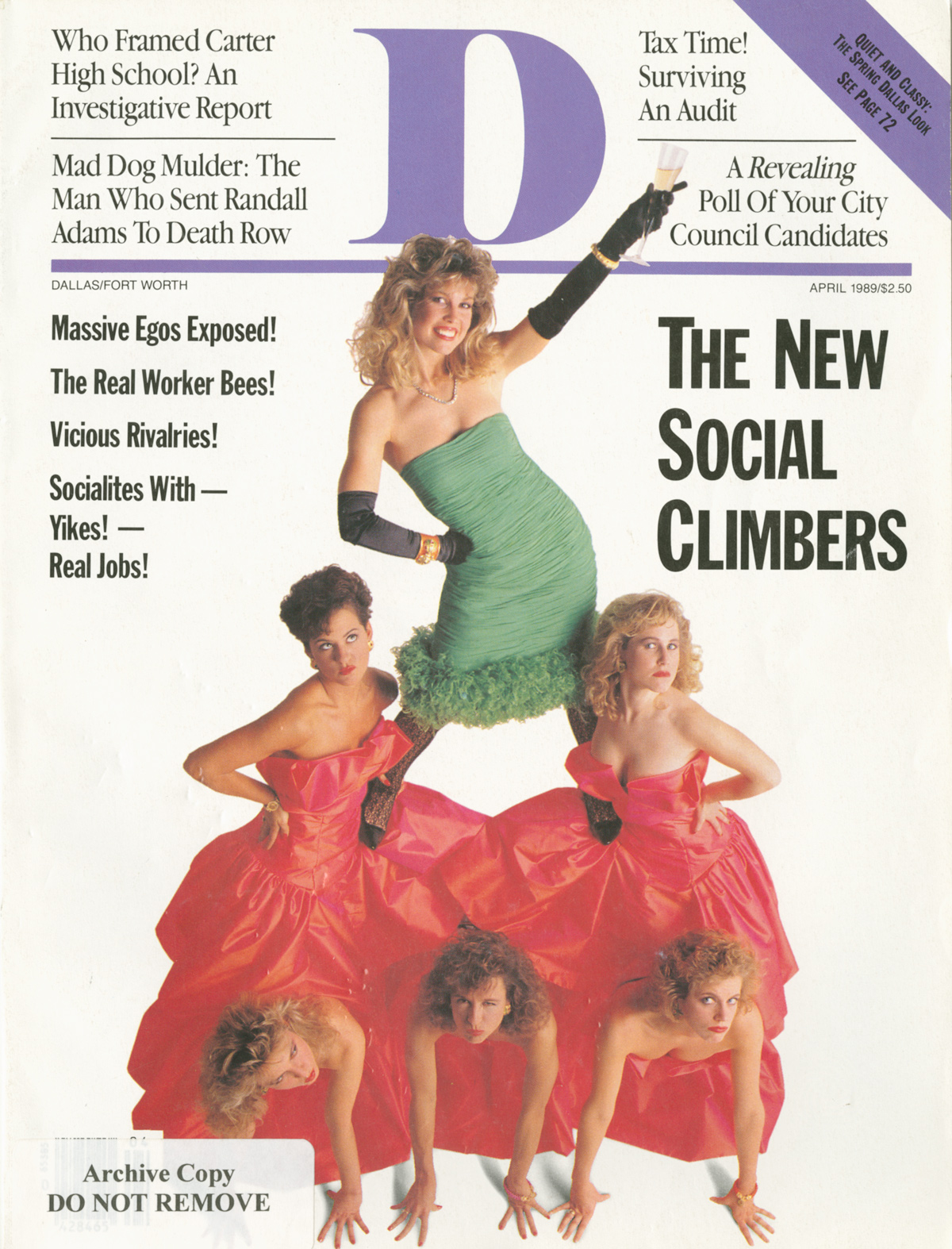 April 1989 cover