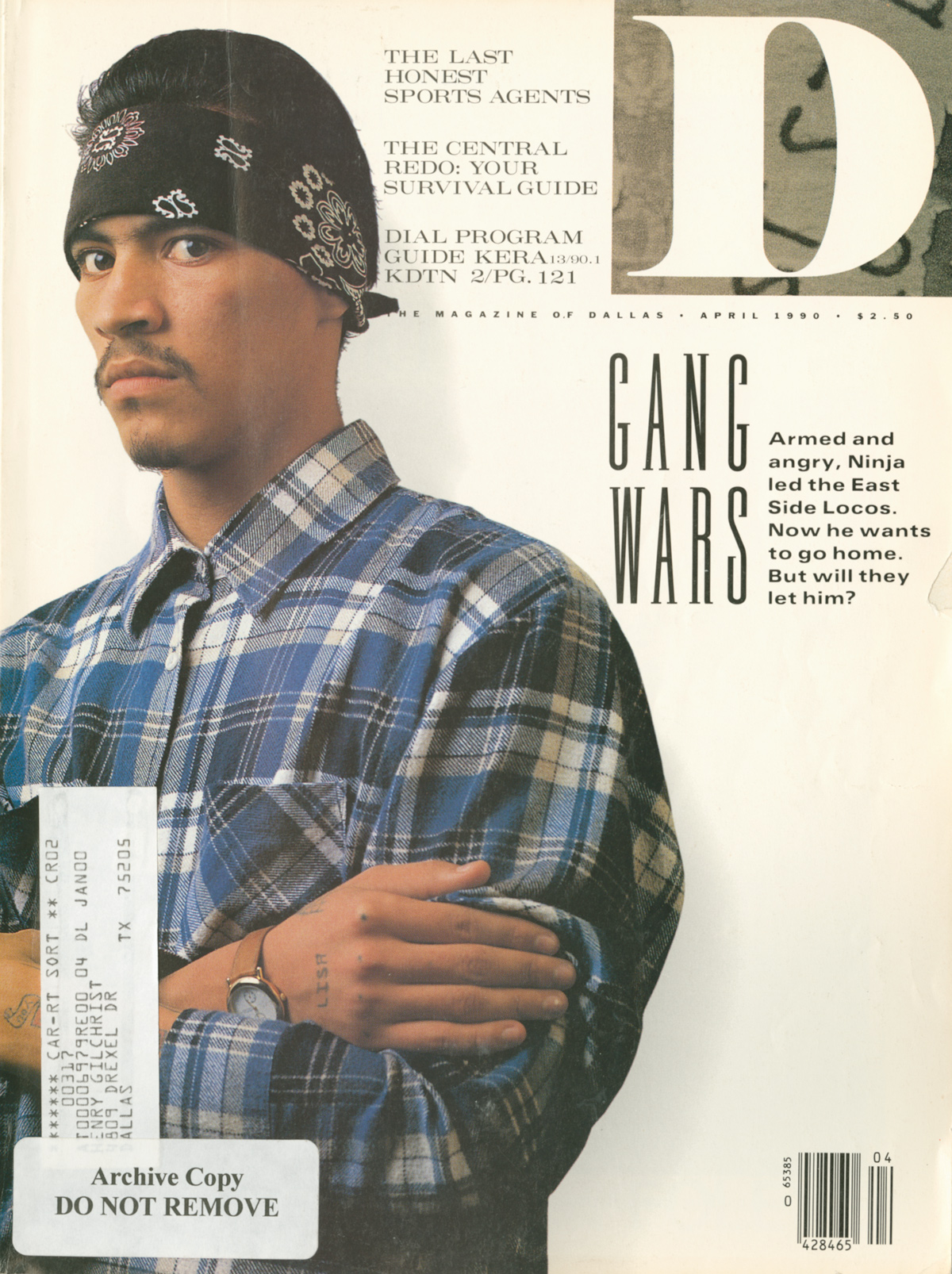April 1990 cover