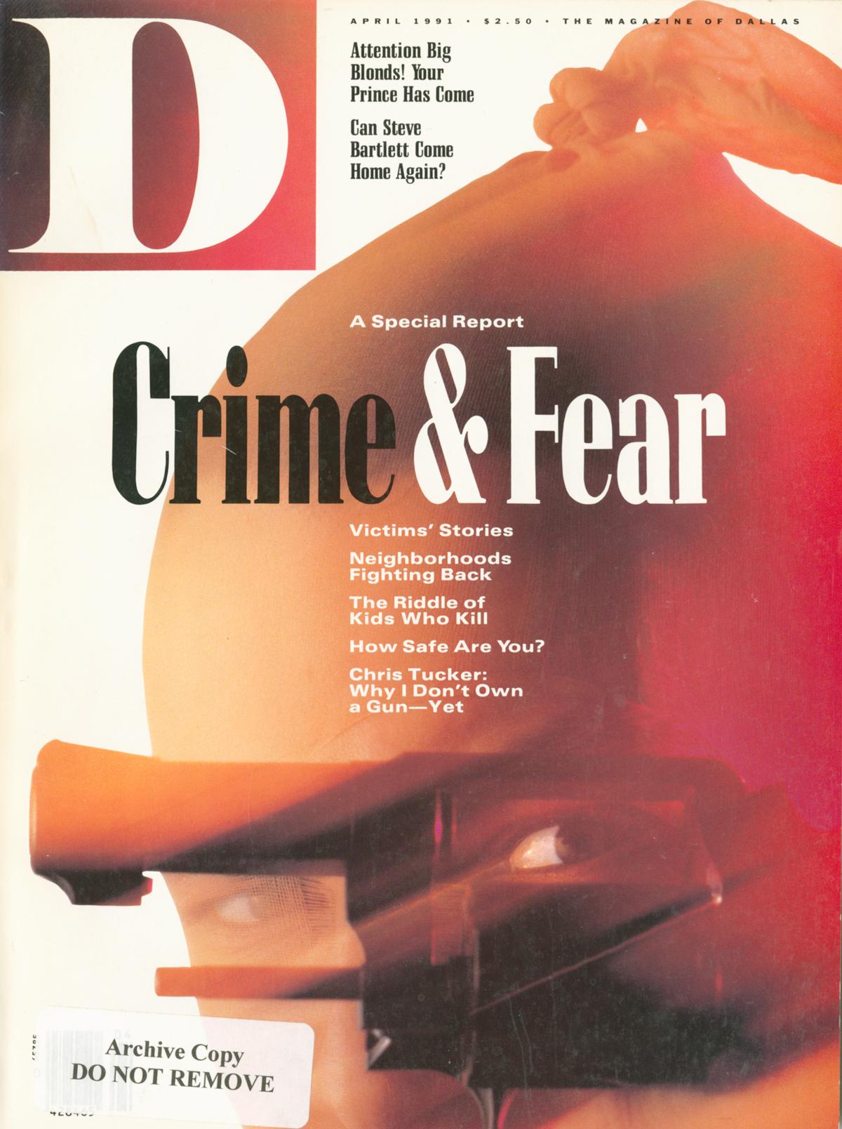 April 1991 cover