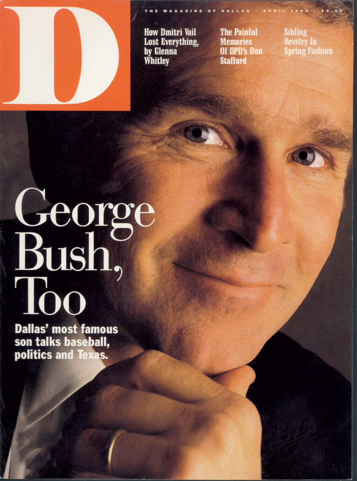 April 1992 cover