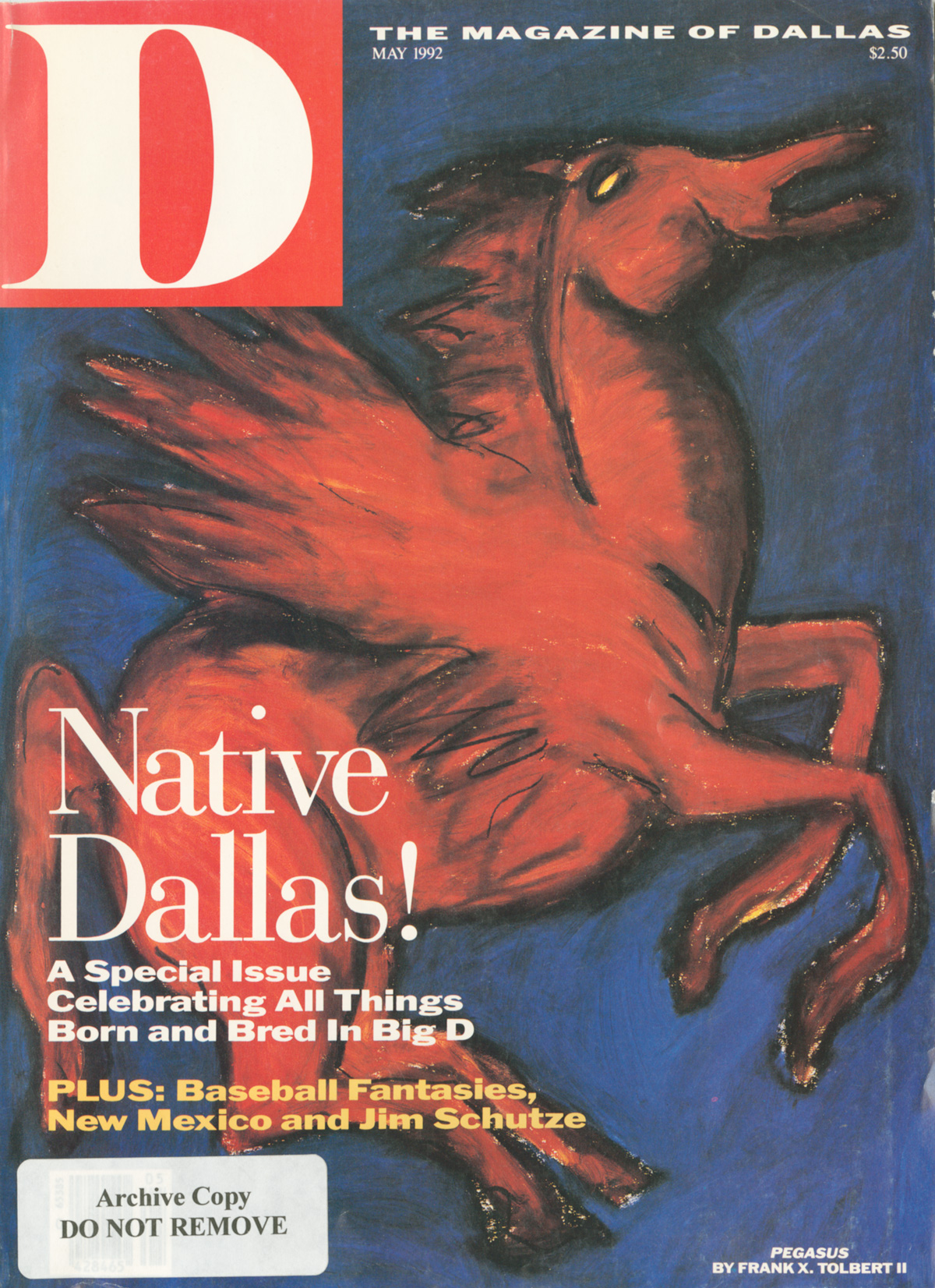 May 1992 cover