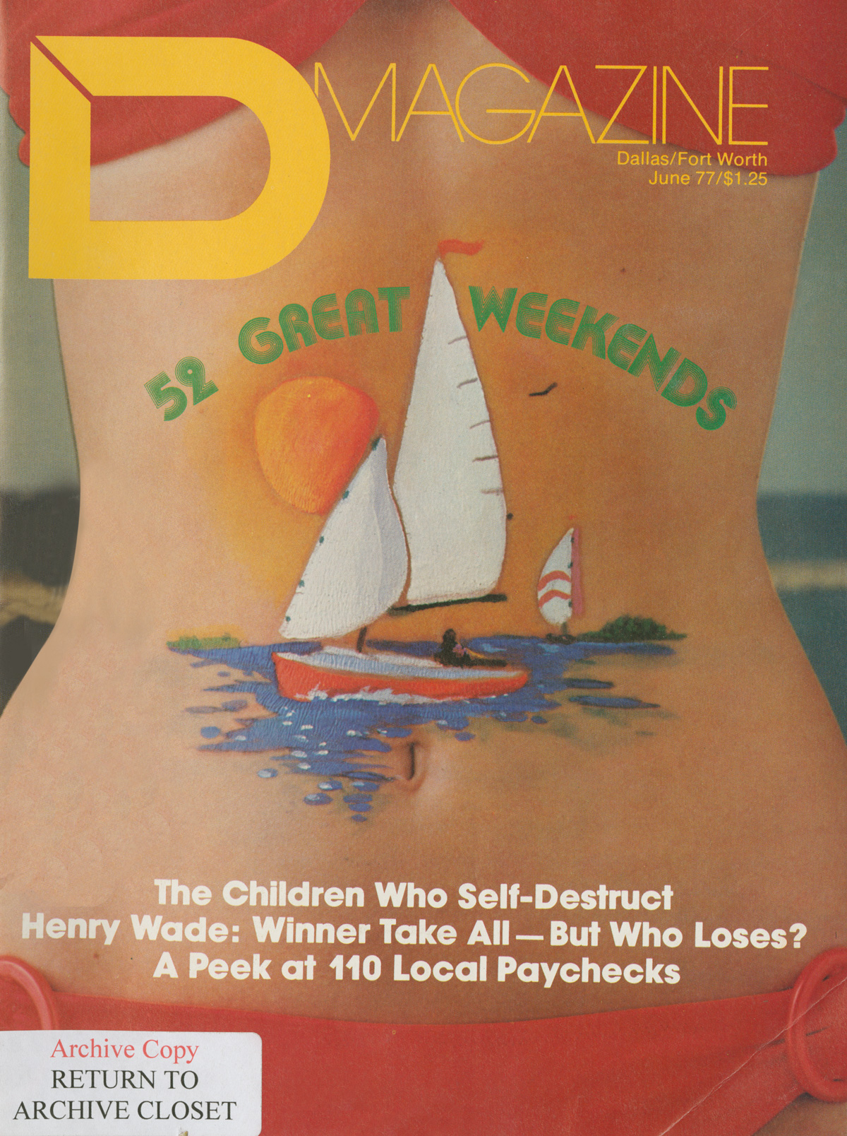 June 1977 cover