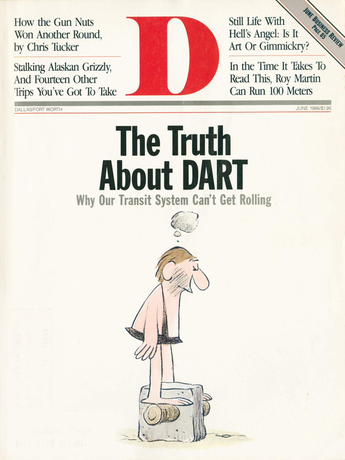 June 1986 cover