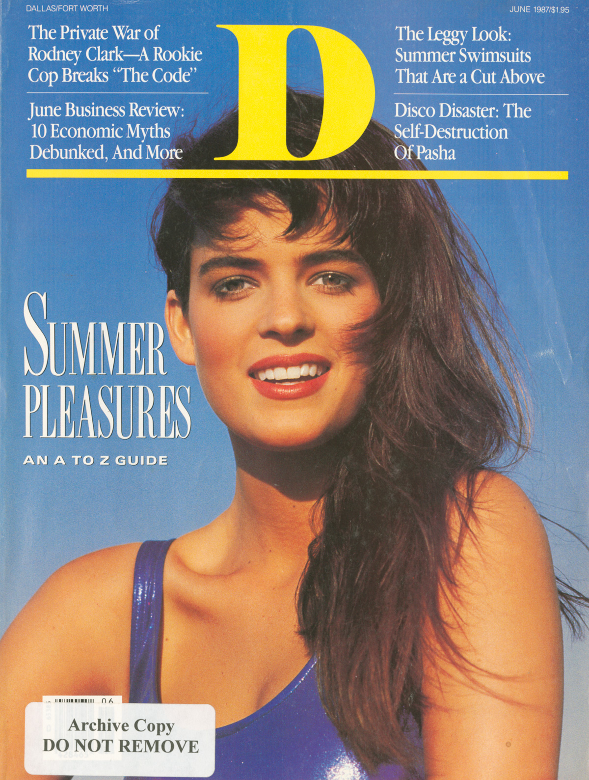 June 1987 cover