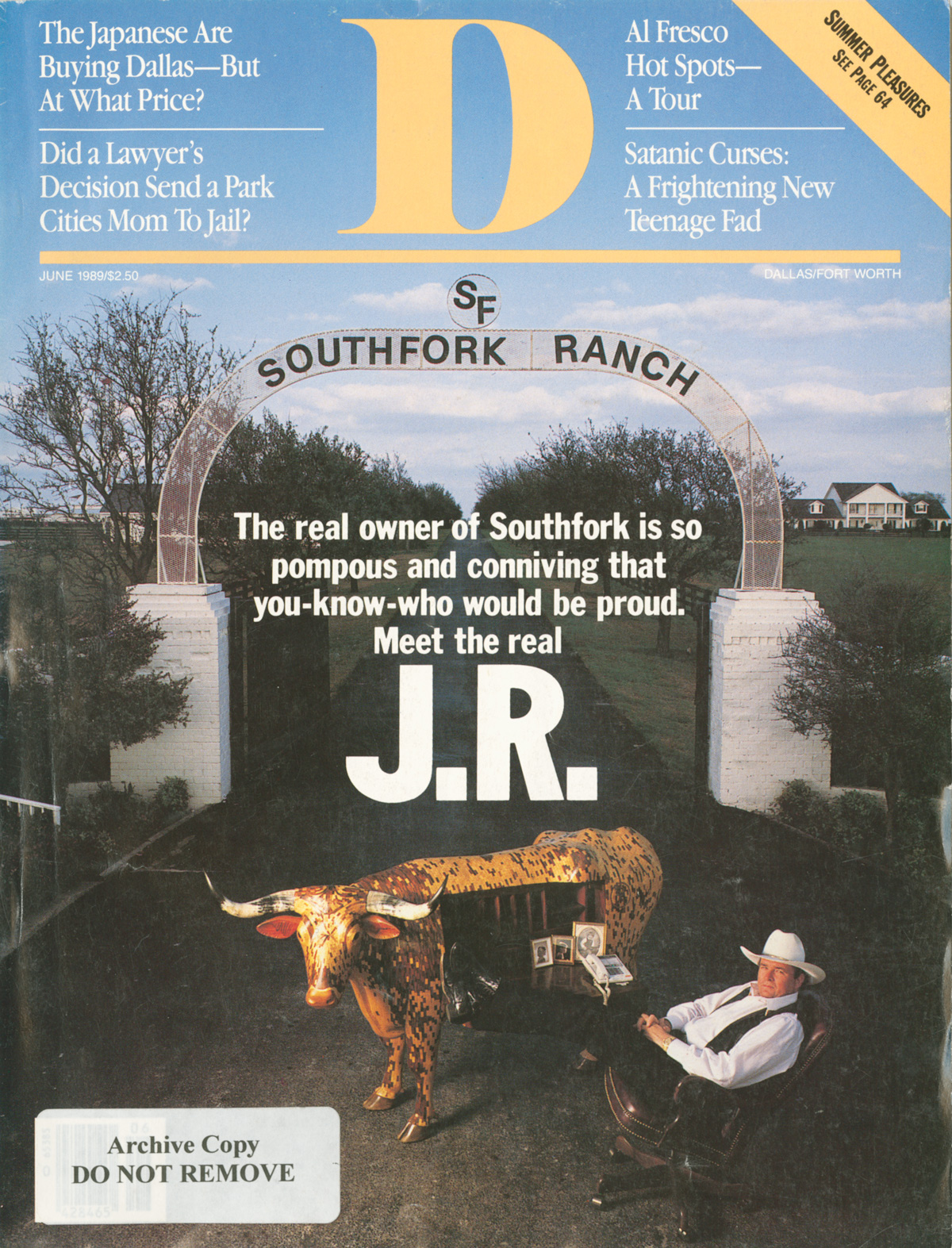 June 1989 cover