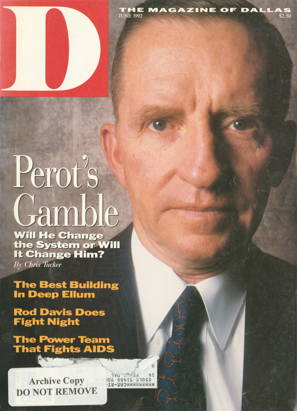 June 1992 cover