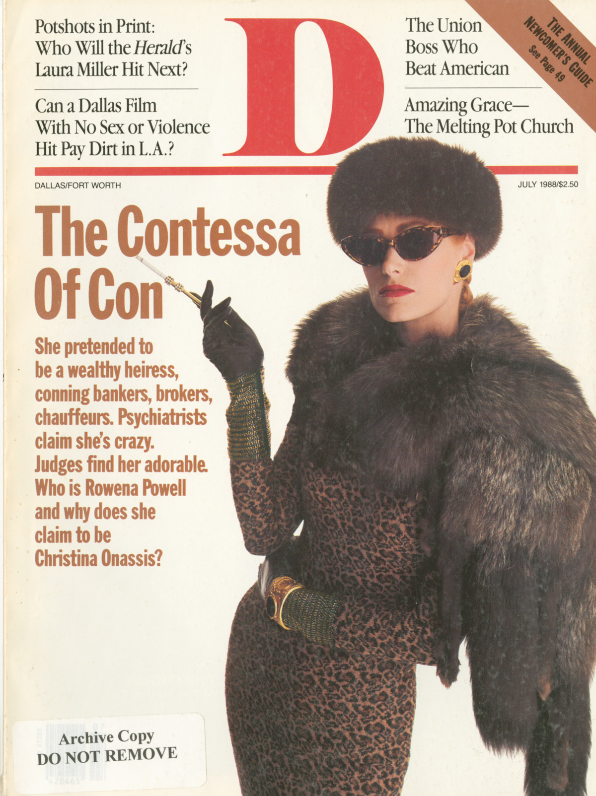 July 1988 cover