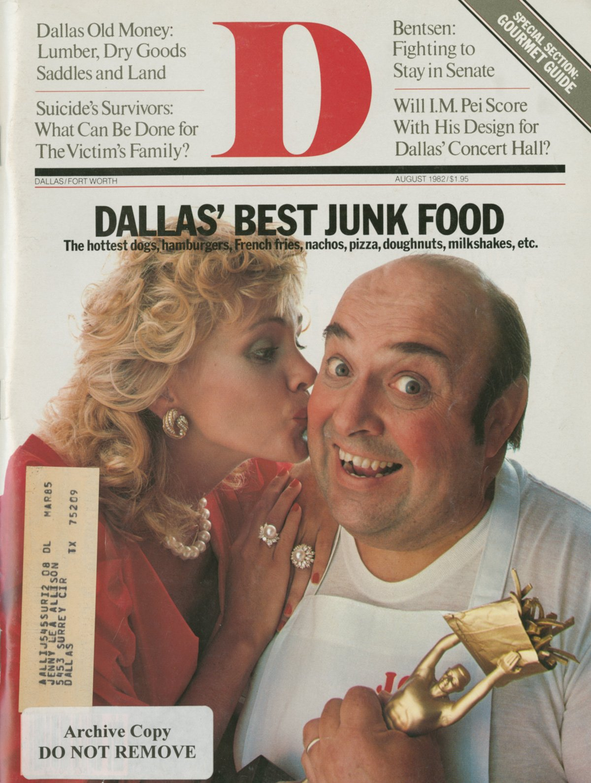 August 1982 cover