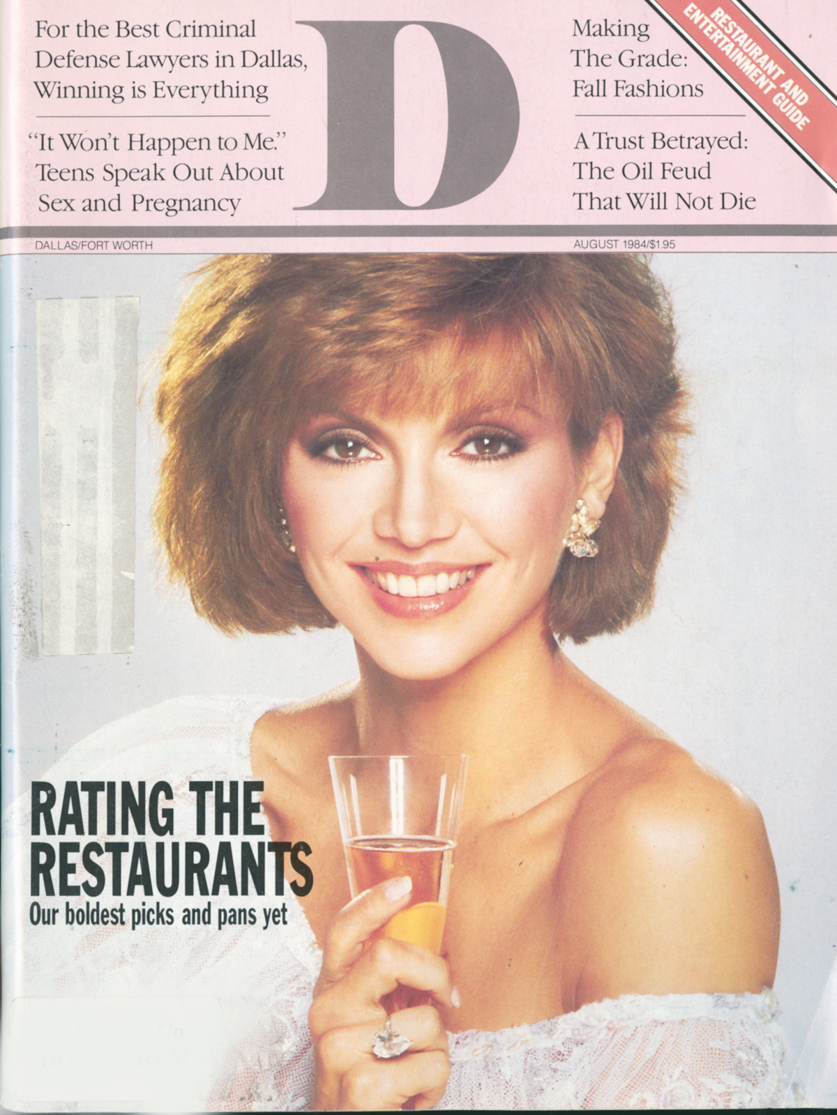 August 1984 cover
