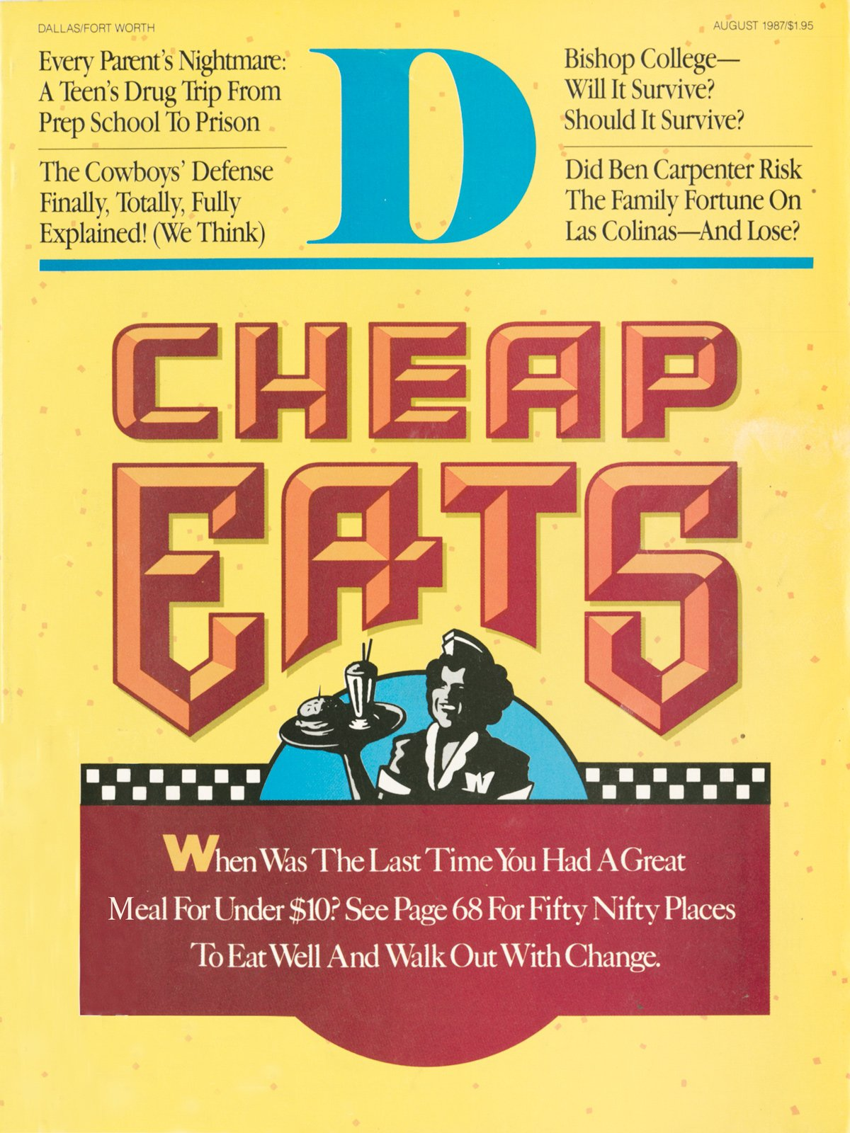 August 1987 cover