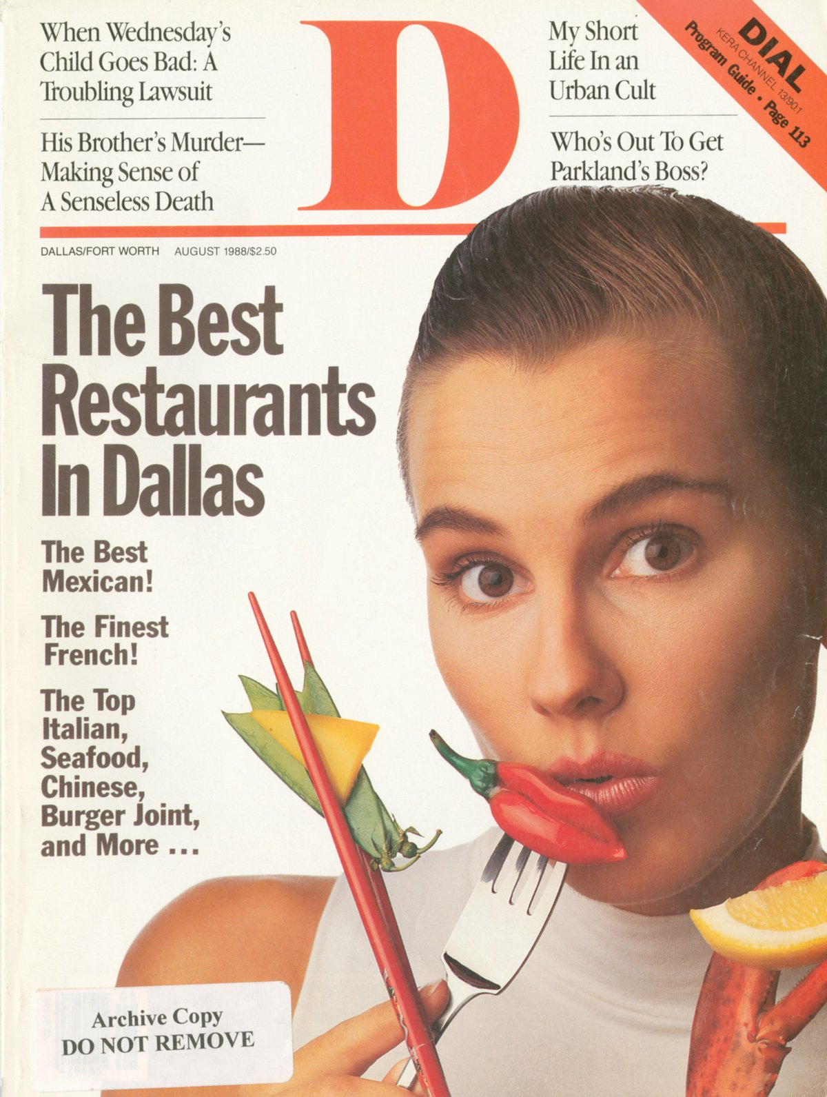 August 1988 cover