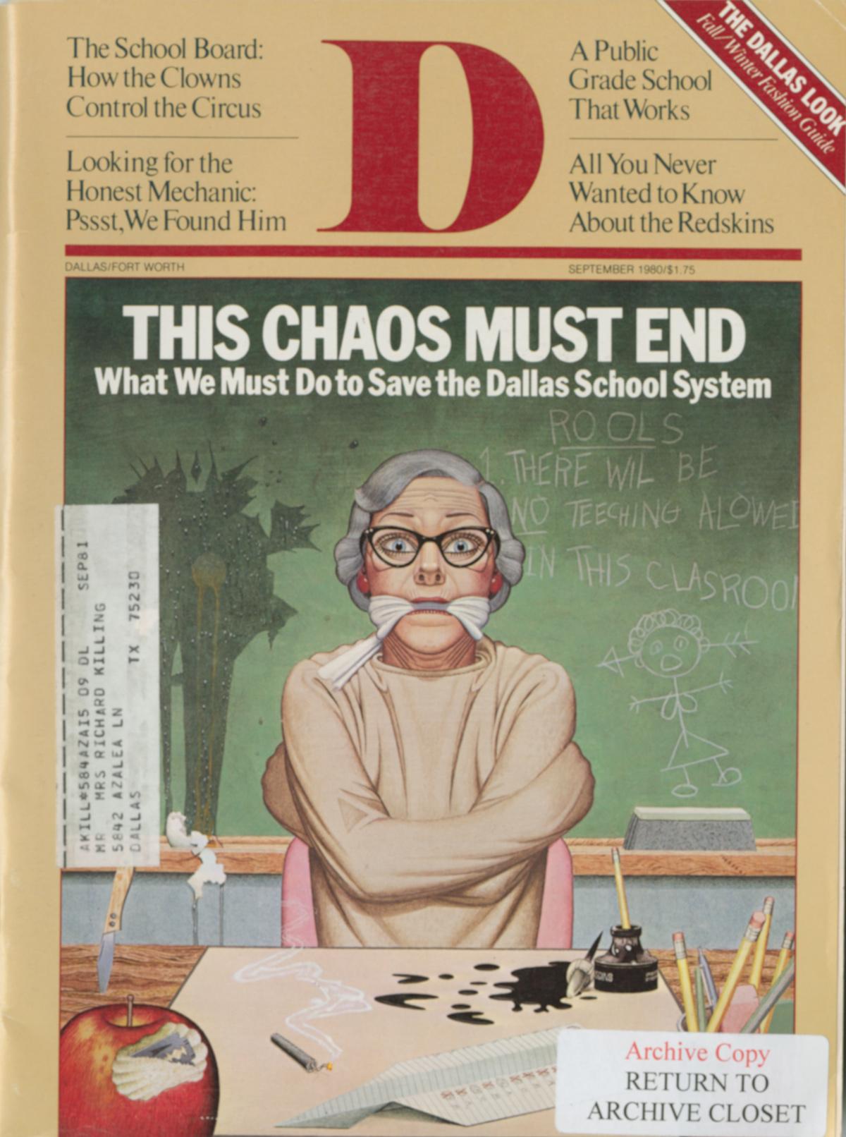 September 1980 cover