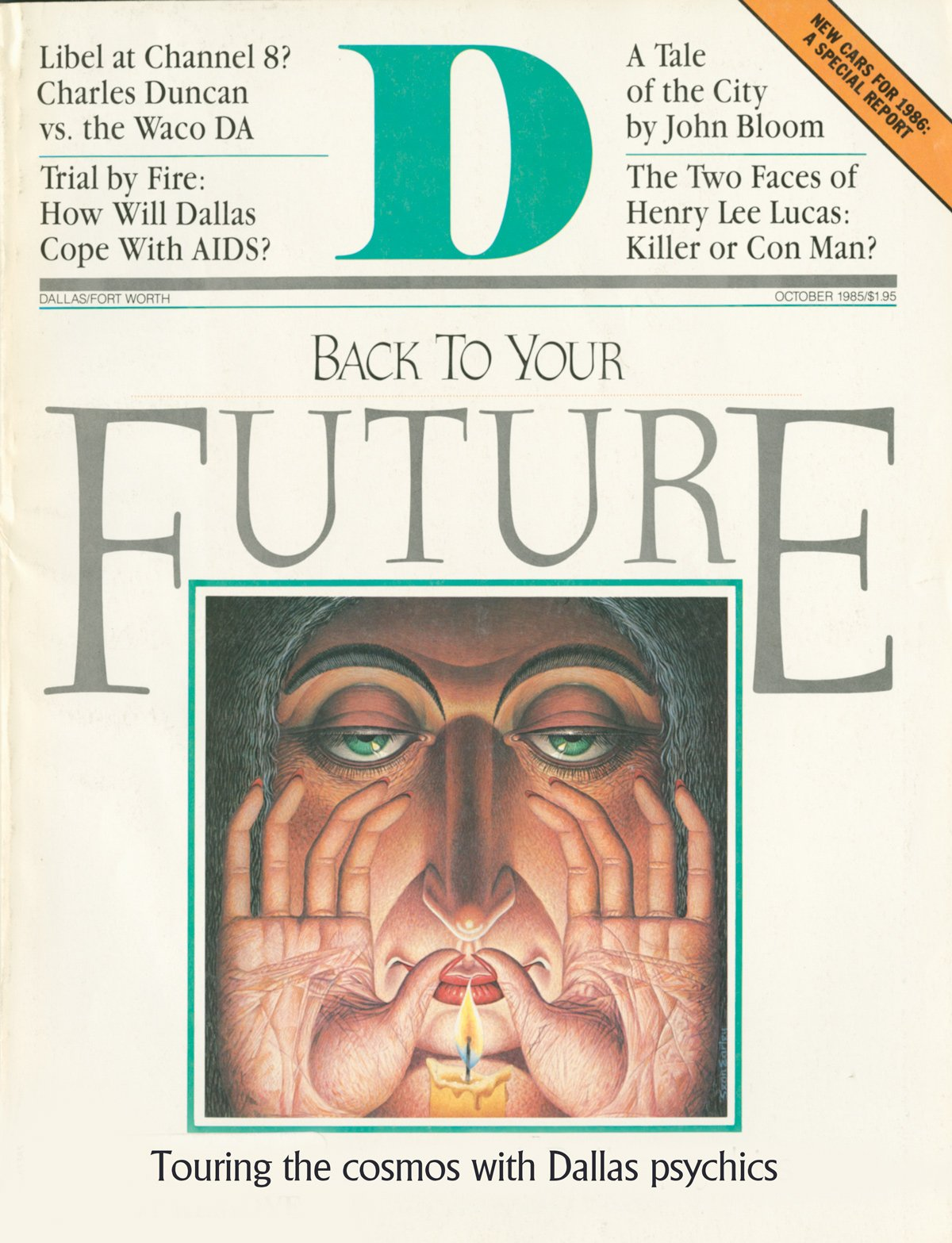 October 1985 cover