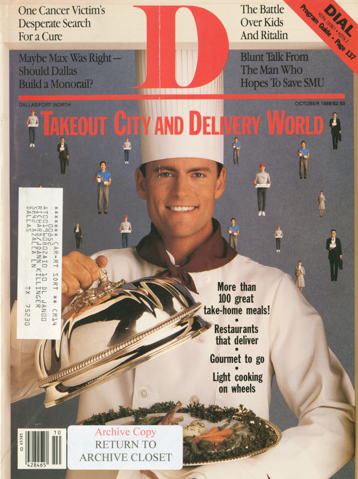 October 1988 cover