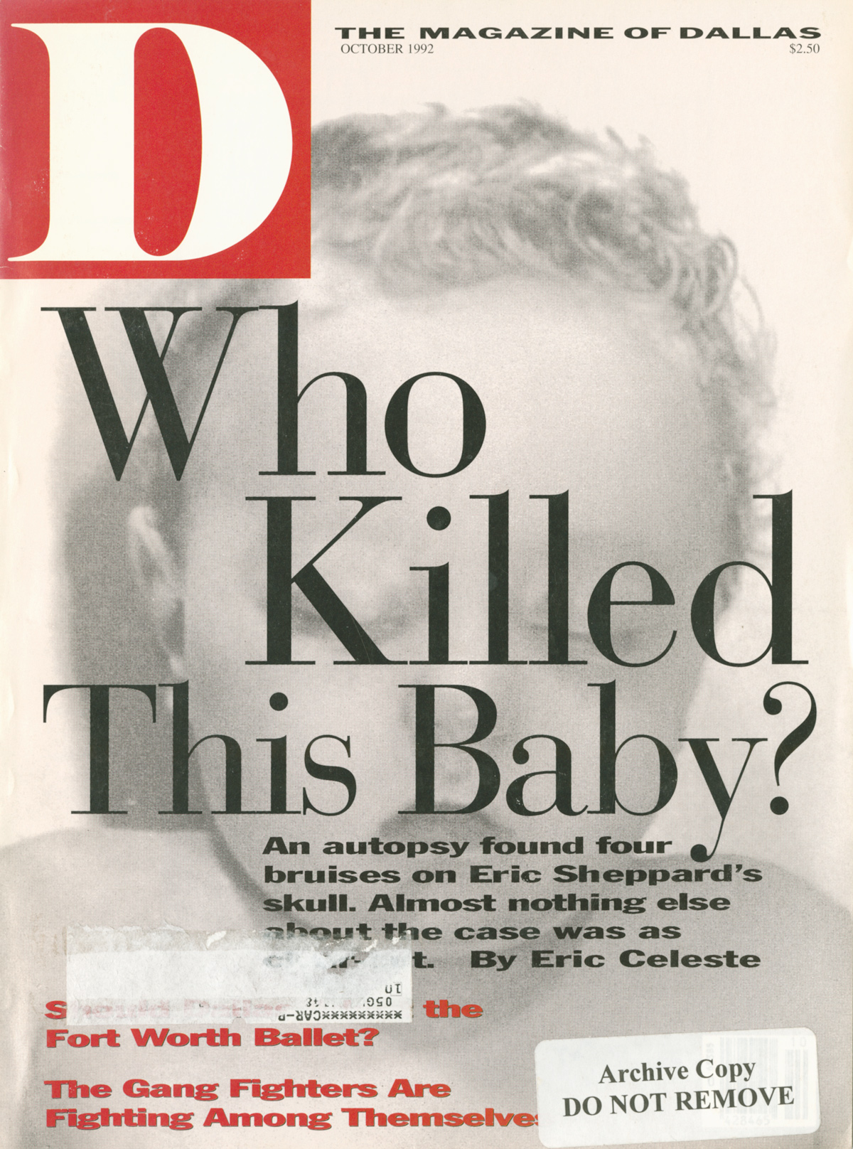 October 1992 cover
