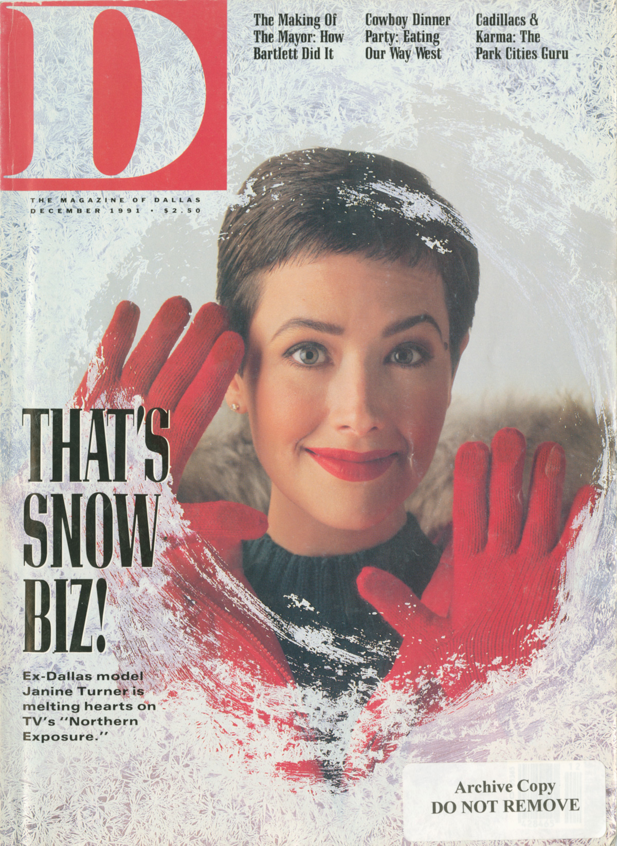 December 1991 cover